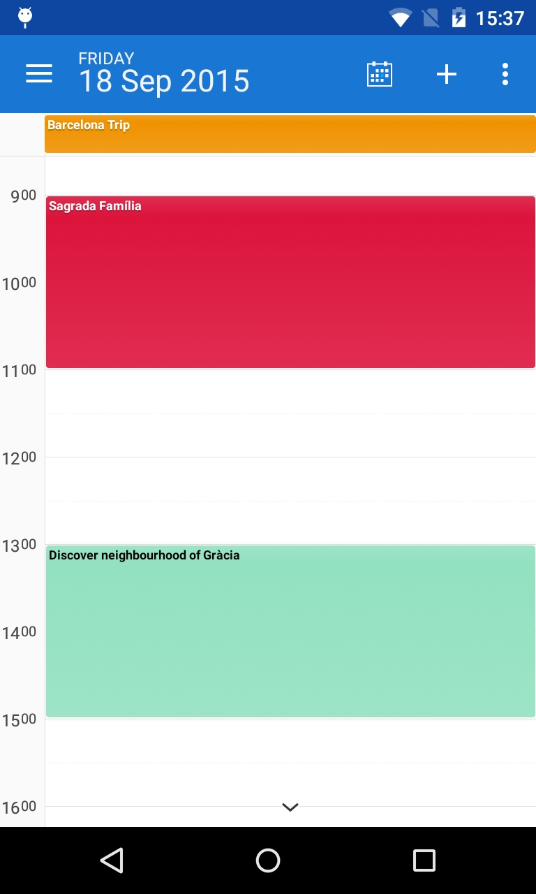 Calendar Views: Day- And Week View (Incl. Example Of How To