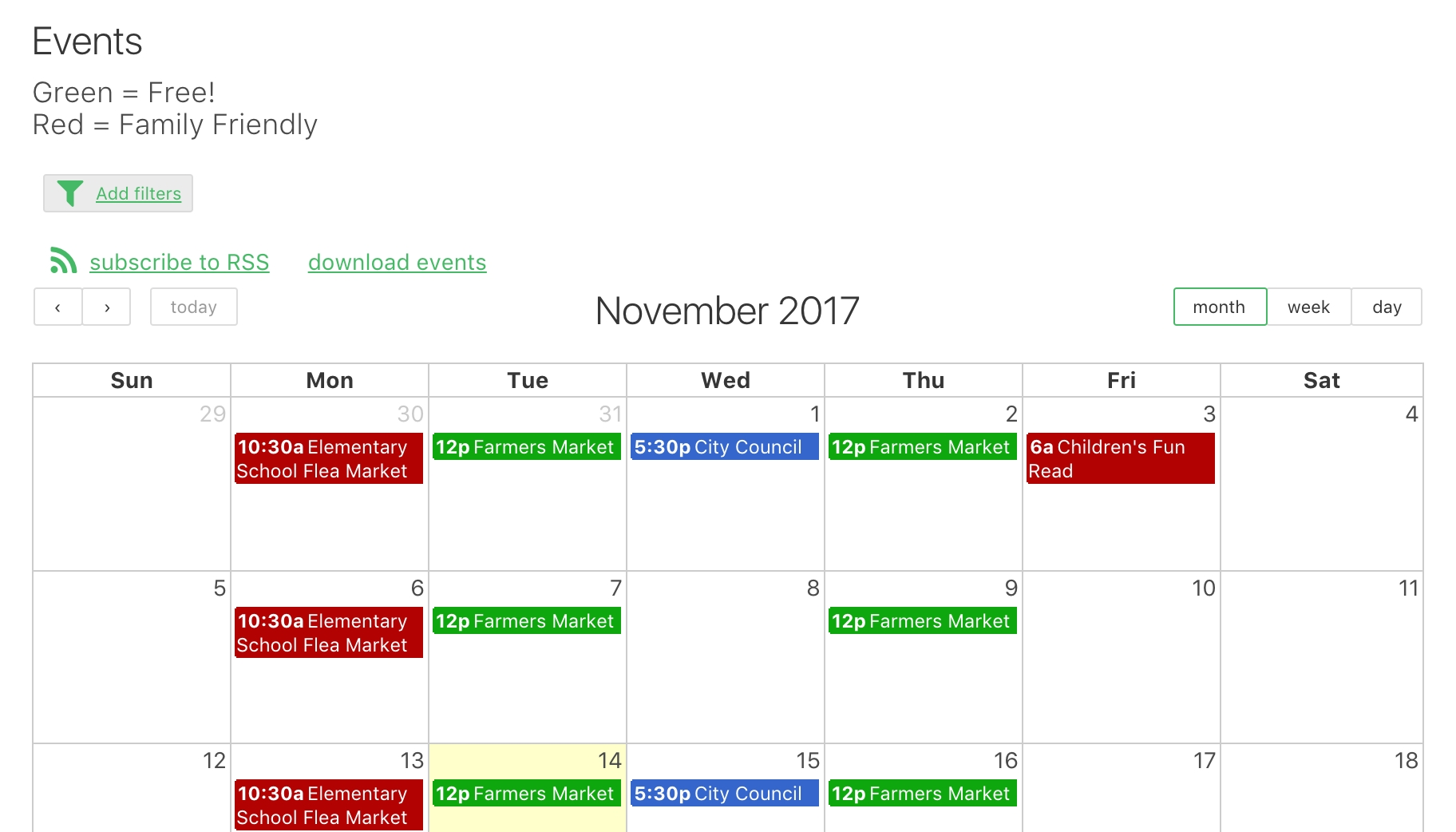 Calendars – Knack