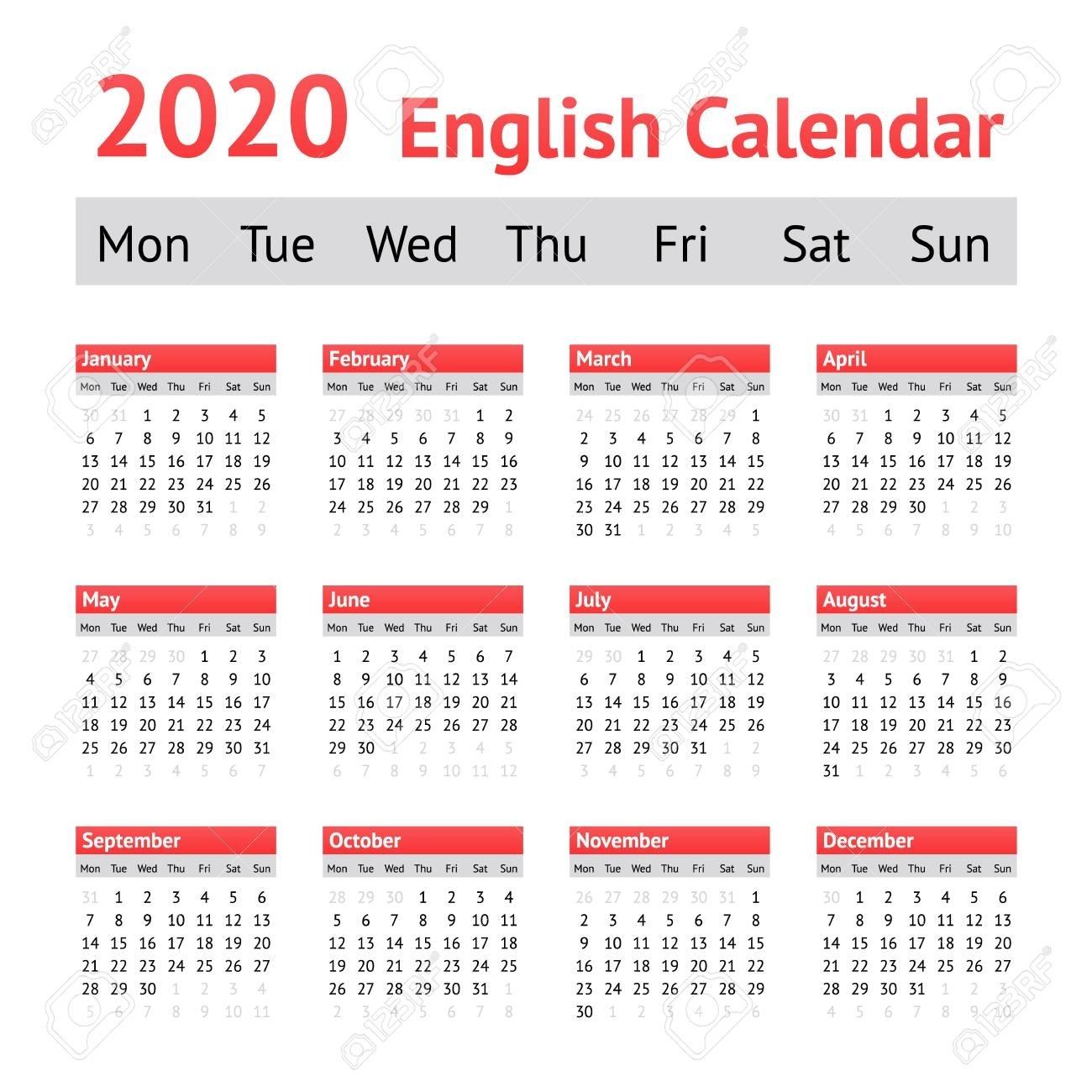 Calendarweek 2020 - Cerno.mioduchowski