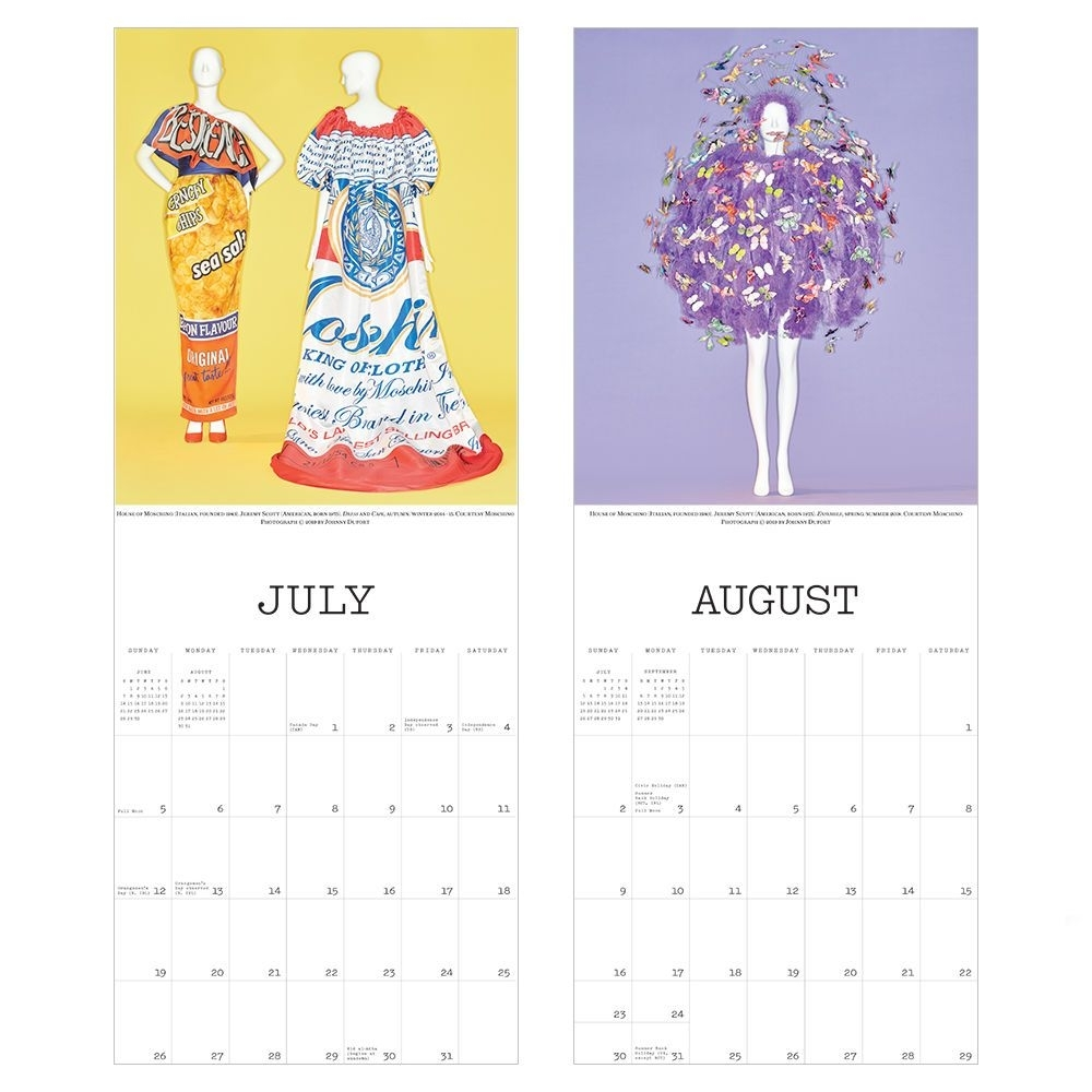 Camp: Notes On Fashion Wall Calendar 2020 | Wish List In