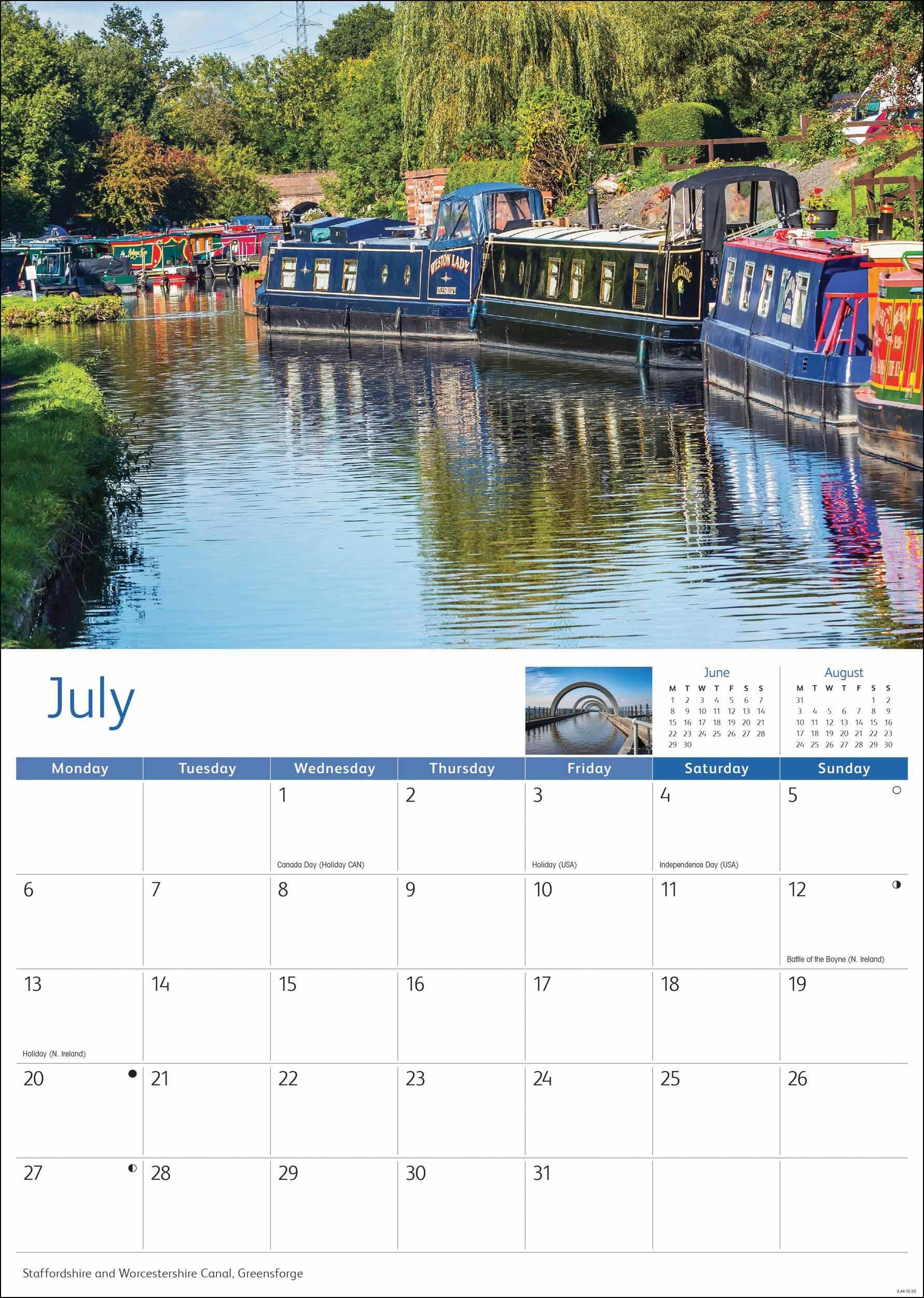 Canal Calendars | The Canal Shop