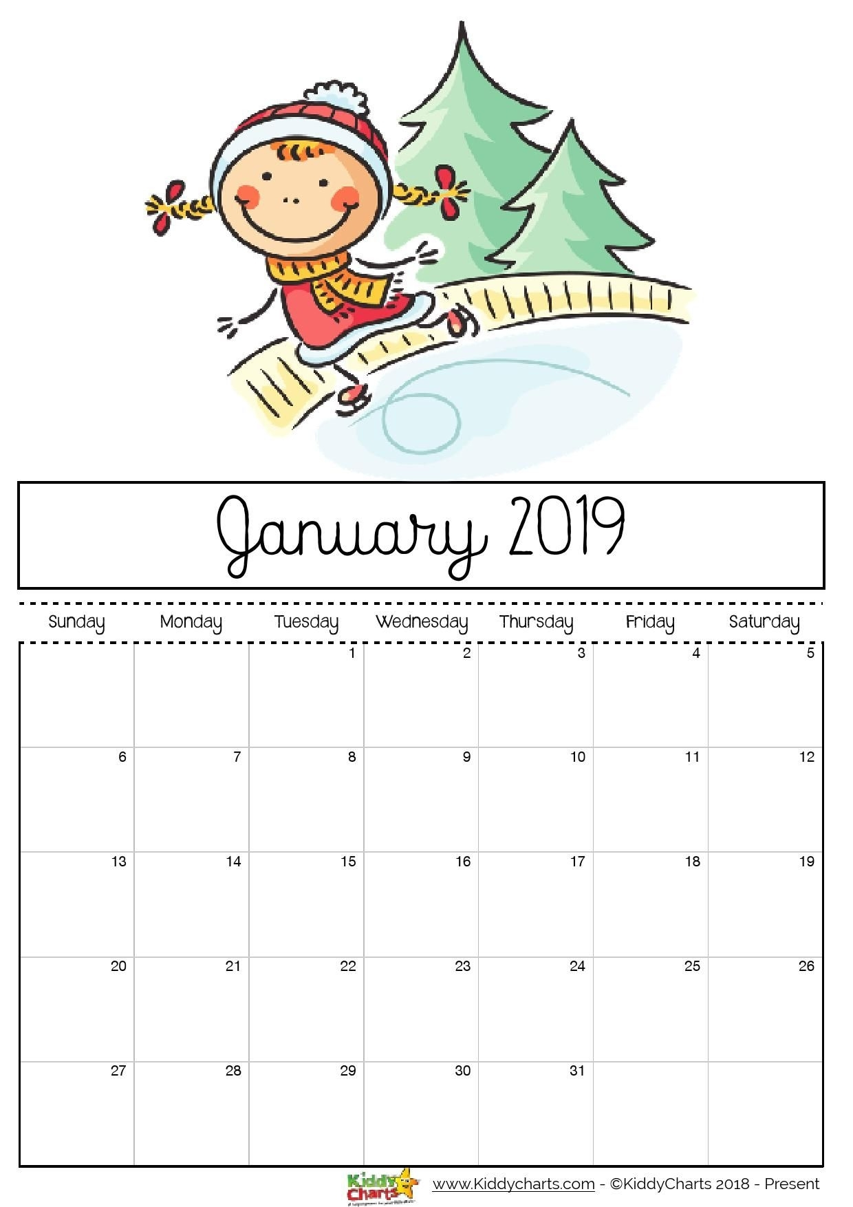 Check Out Our Fantastic Free 2019 Calendar For Your Child's