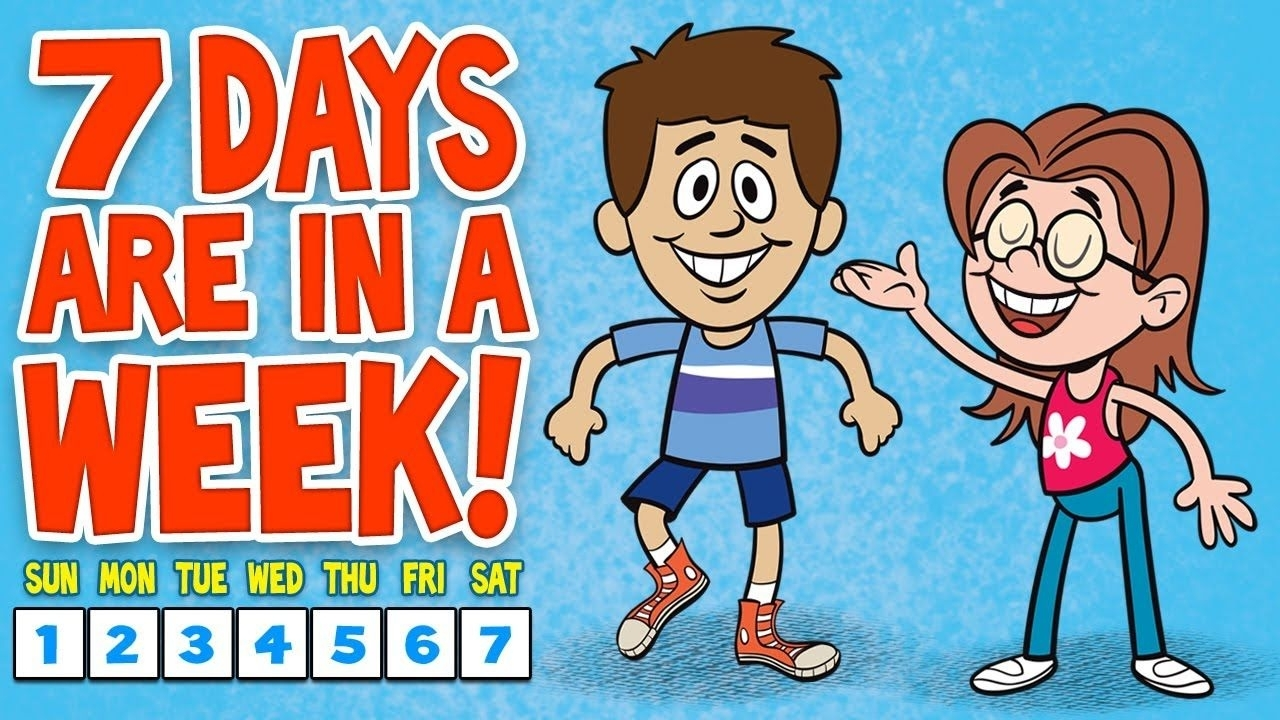 Children Will Learn The Seven Days Of The Week With This