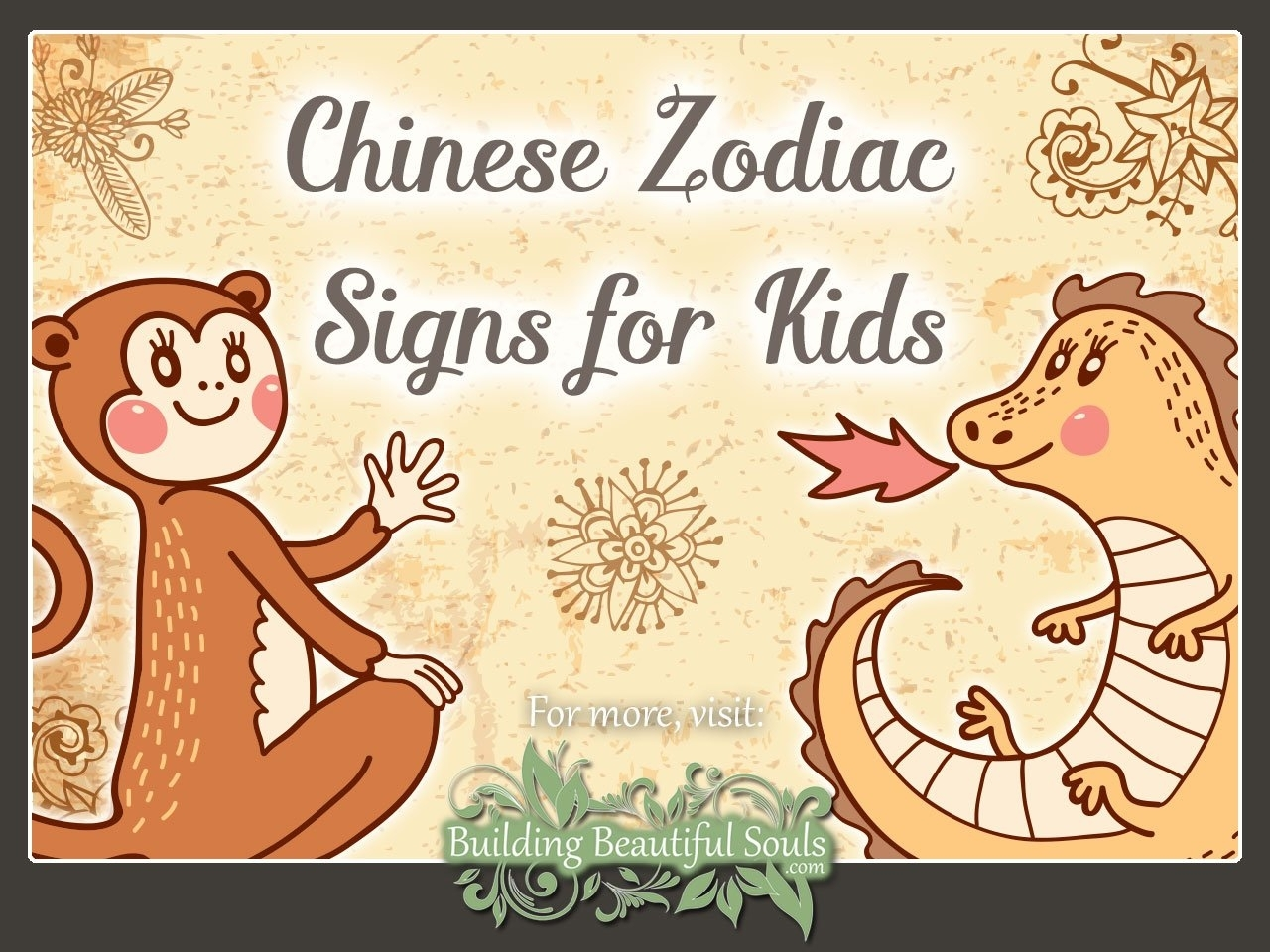 Chinese Zodiac For Kids | Learn About Chinese The Zodiac