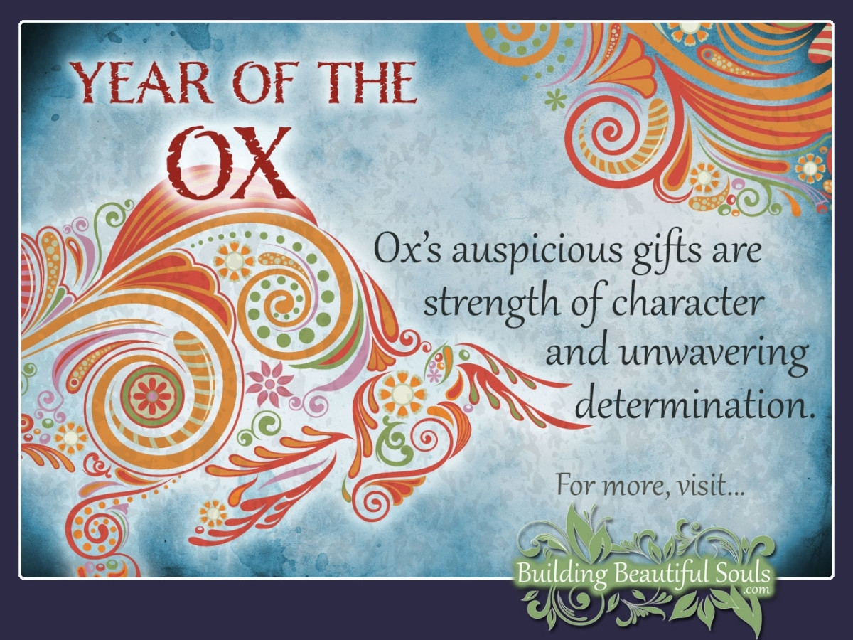 Chinese Zodiac Ox | Year Of The Ox | Chinese Zodiac Signs