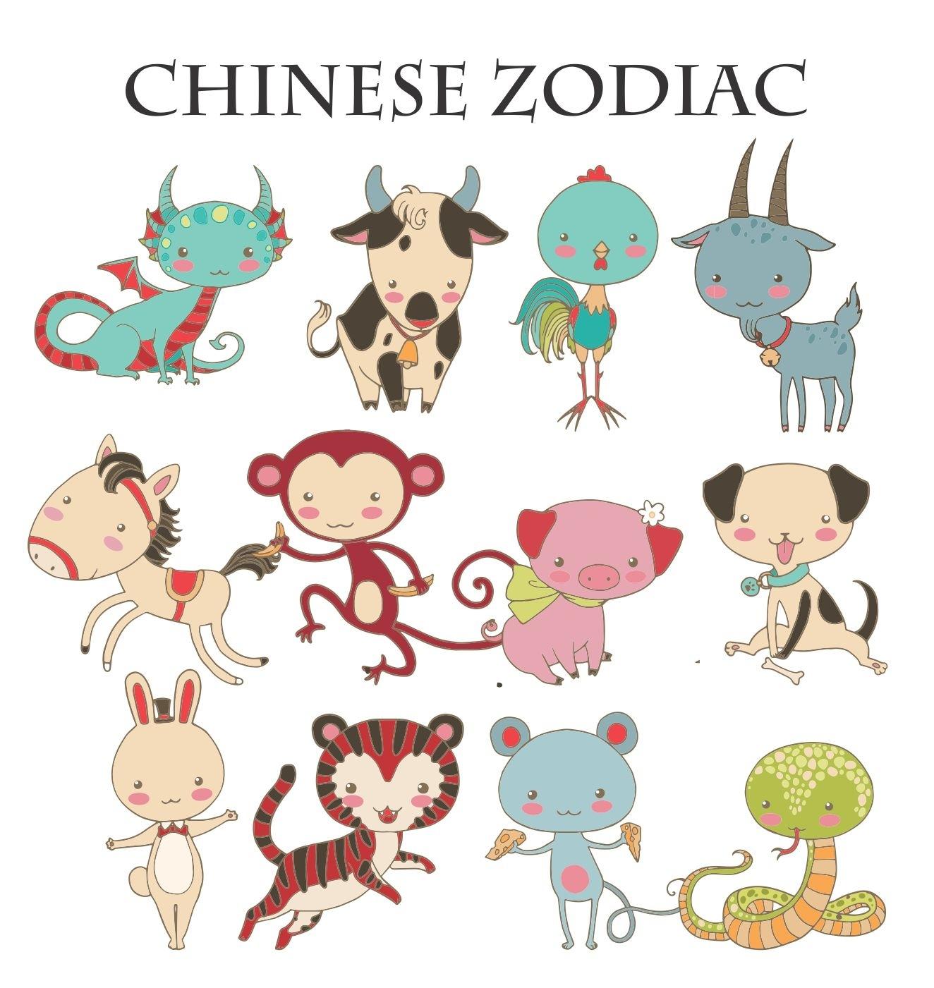 Chinese Zodiac Placemat (Laminated) (Personalized)