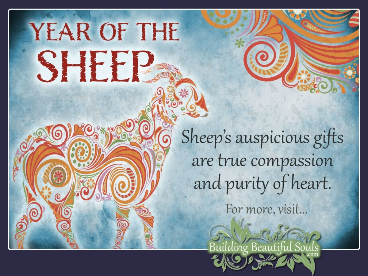 Chinese Zodiac Sheep | Year Of The Sheep | Chinese Zodiac