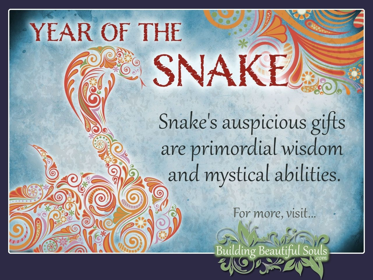 Chinese Zodiac Snake | Chinese Zodiac Snake, Year Of The