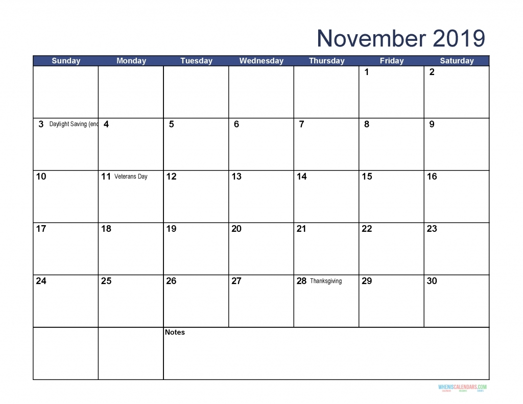 Collect Printable Hebrew Calendar November 2019 ⋆ The Best