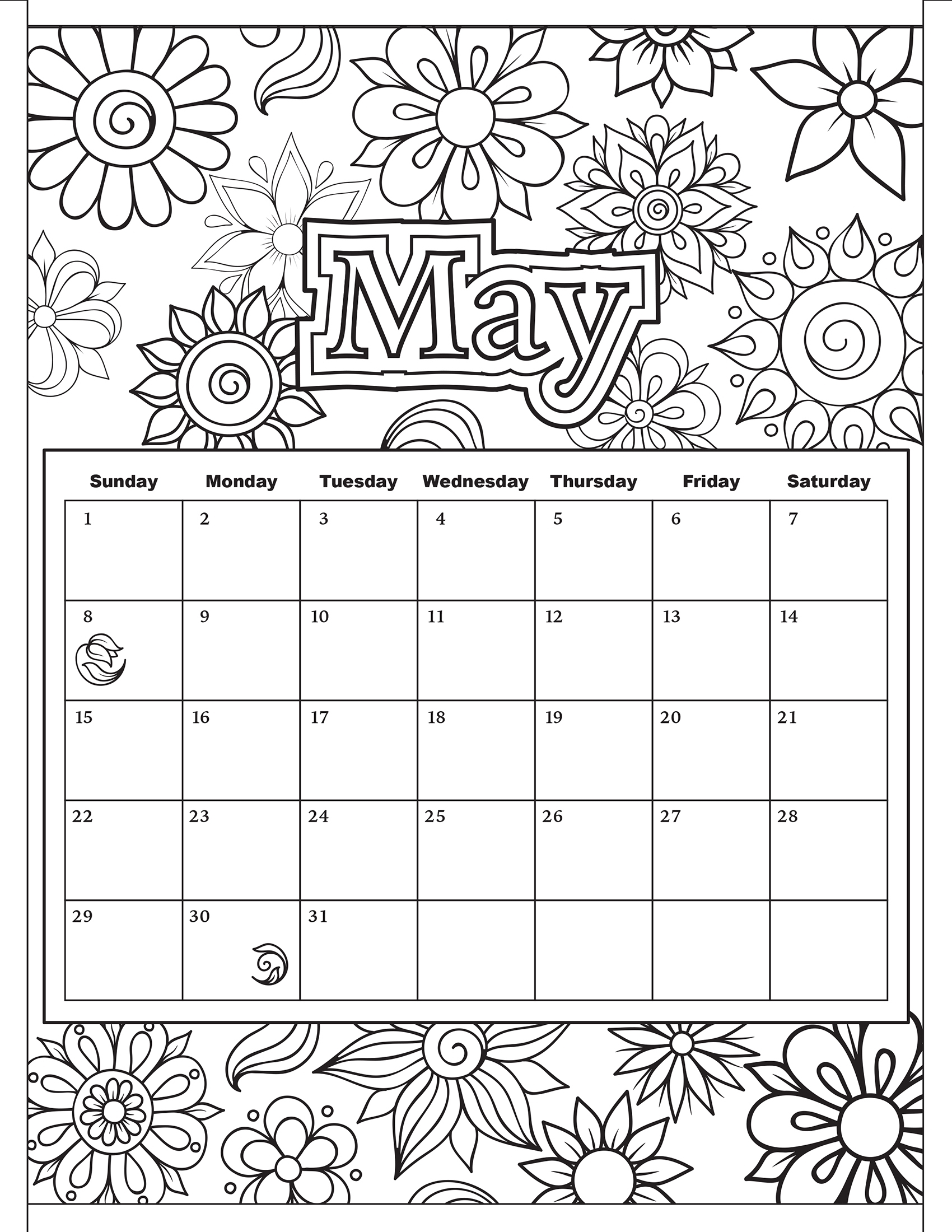 Coloring Pages : Stunning Calendar Coloring Pages Free To