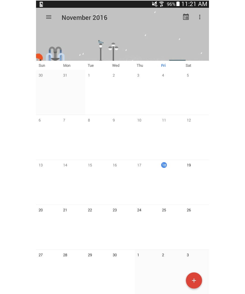 Common React Native App Layouts: Calendar Page