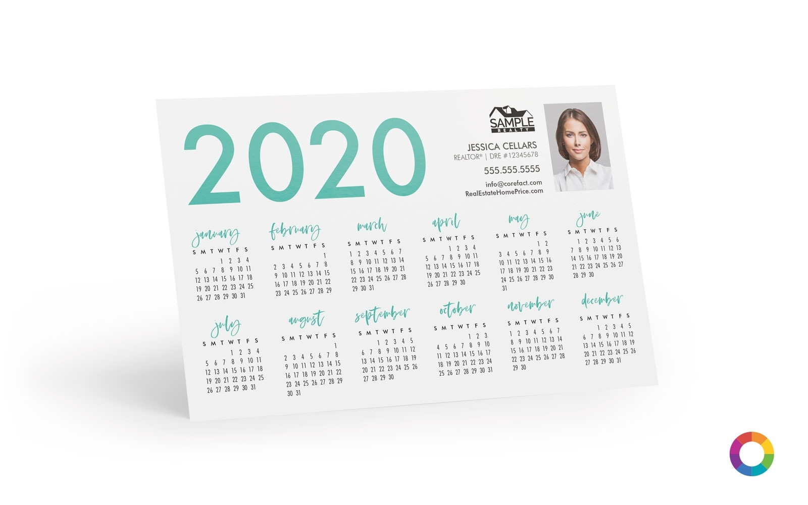Corefact | Calendar Postcards