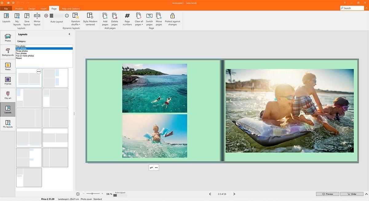 Create A Bonusprint Photo Book In Less Than An Hour