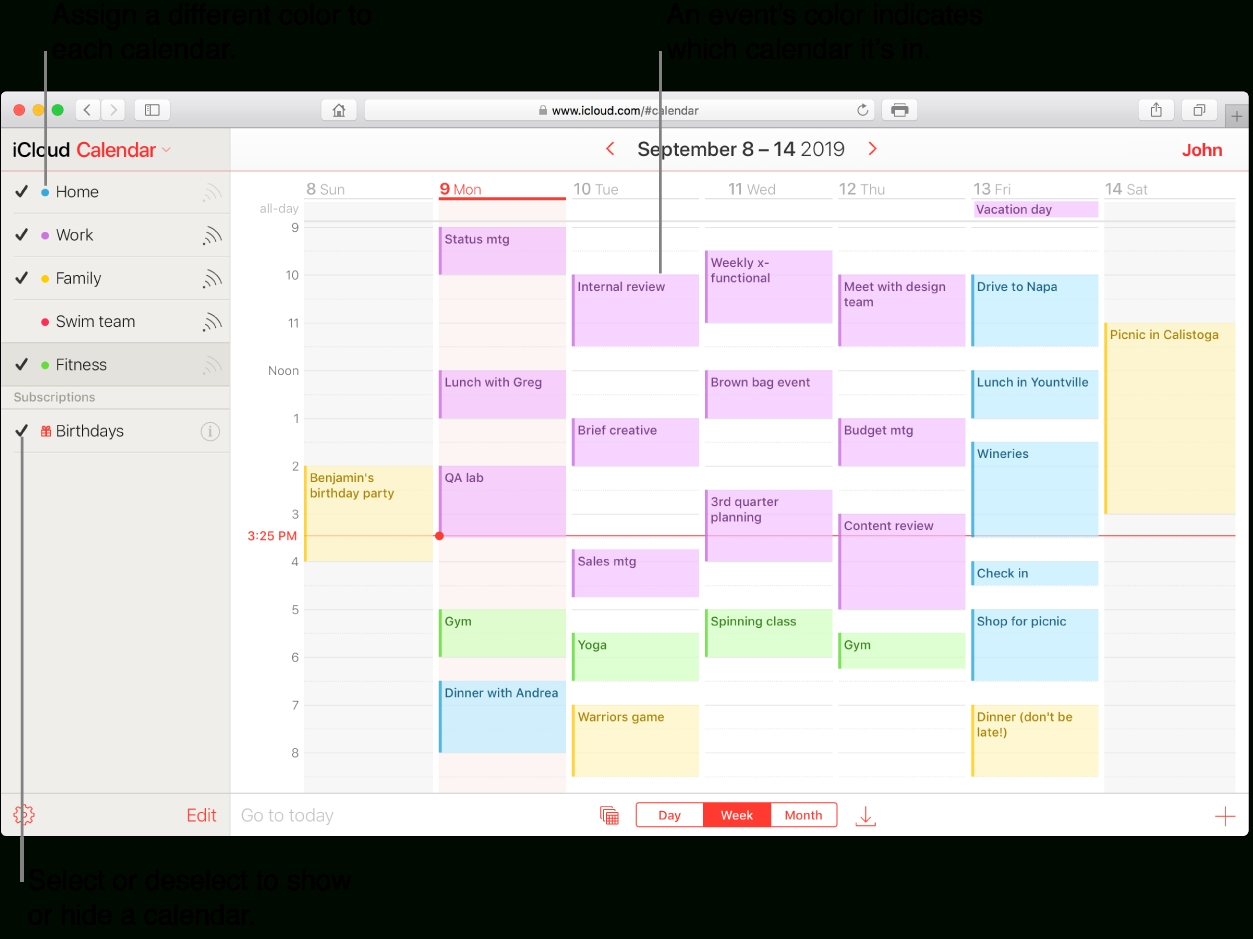 Create A Calendar On Icloud - Apple Support