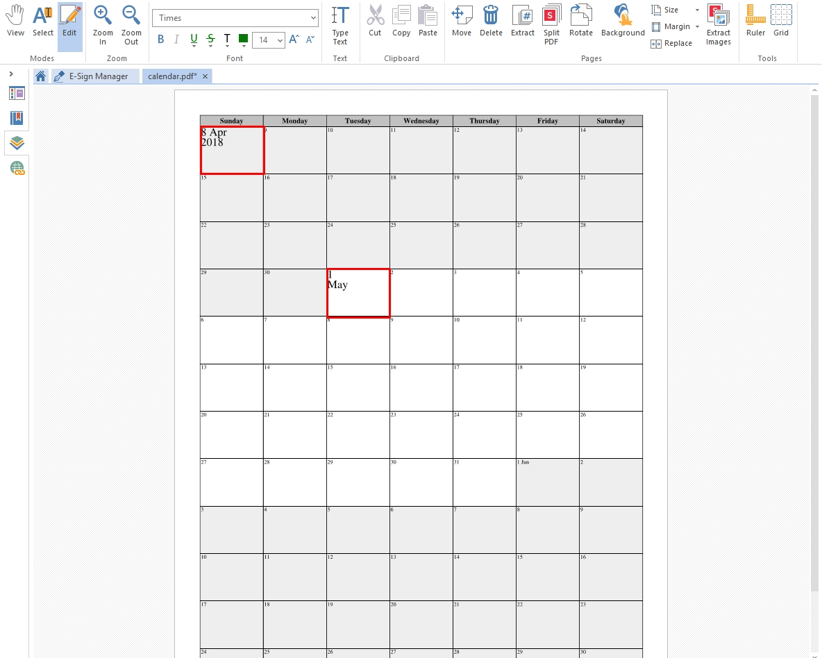 Create A Printable Calendar For Pdf | Soda Pdf Blog