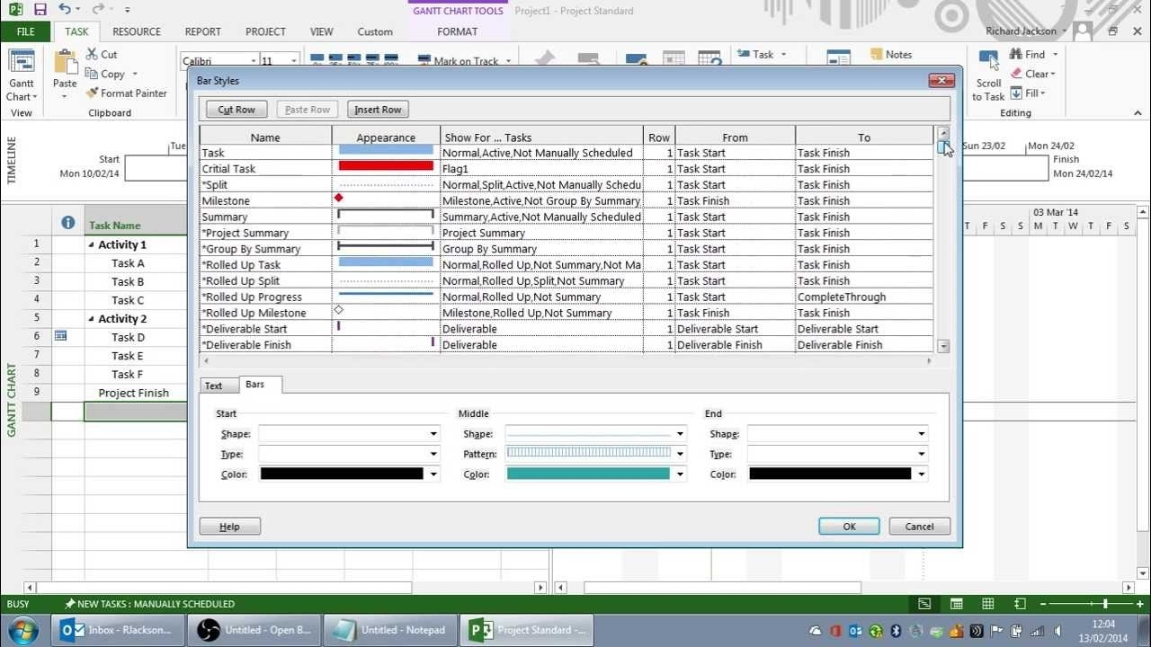 Creating The Perfect Print View In Microsoft Project