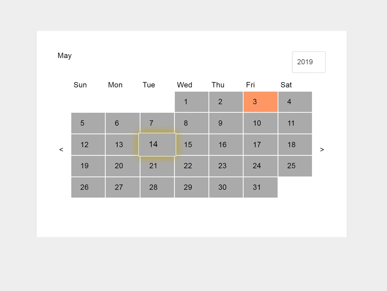 Css3 Animated Event Calendar With Jquery - Js Calendar — Codehim