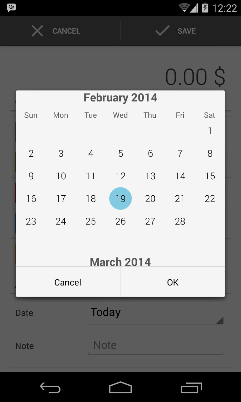 Custom Android Calendarview - Stack Overflow