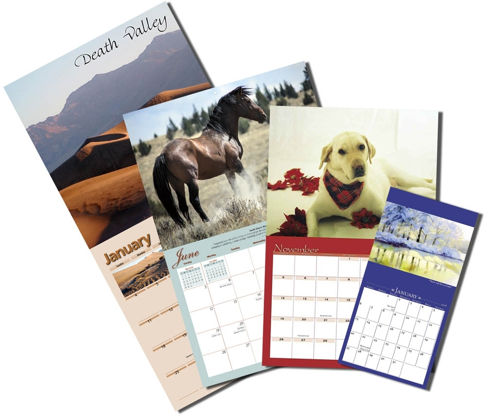 Custom Wall Calendars - Yearbox Calendars