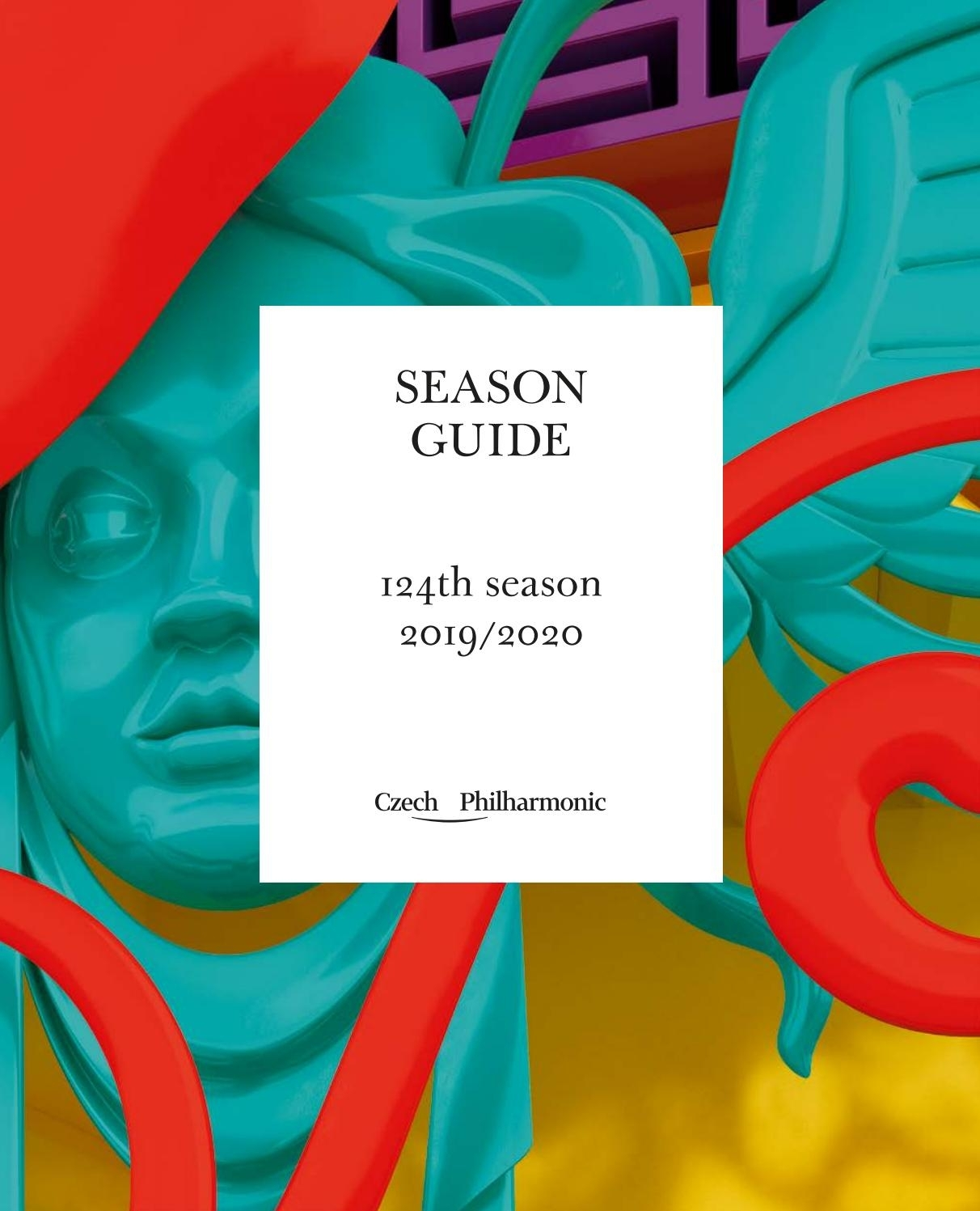 Czech Philharmonic: Season Guide For 124Th Season 2019/2020