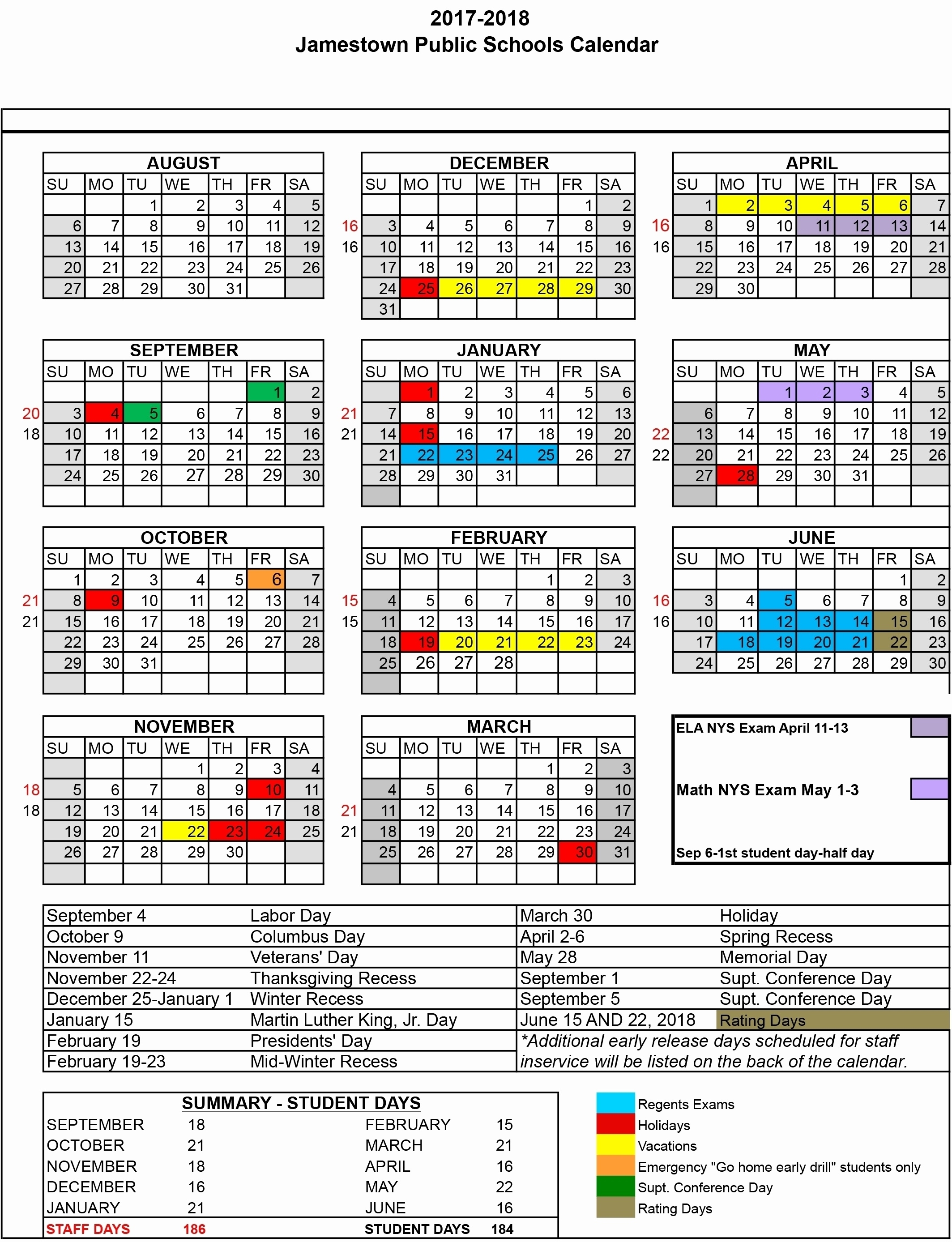 Dashing School Year Calendar Nyc • Printable Blank Calendar