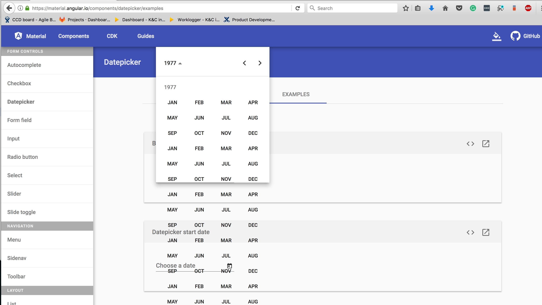 Datepicker Calendar Breaks Down In Firefox · Issue #8305