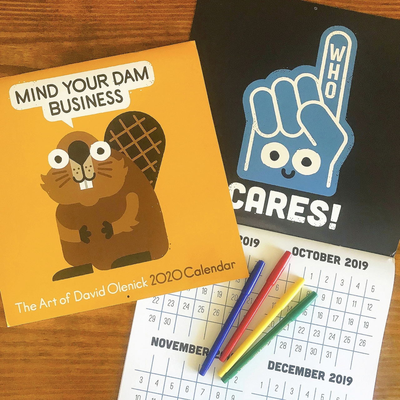 David Olenick — 2020 Calendar Available Now! The 1St Spread