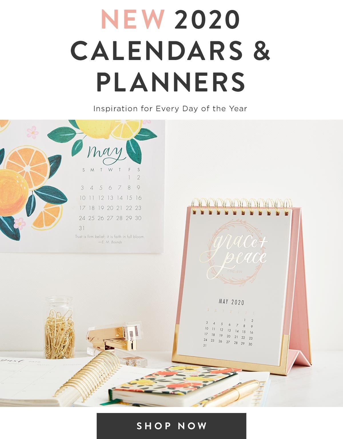 Dayspring: 2020 Calendars & Planners Are Here! | Milled