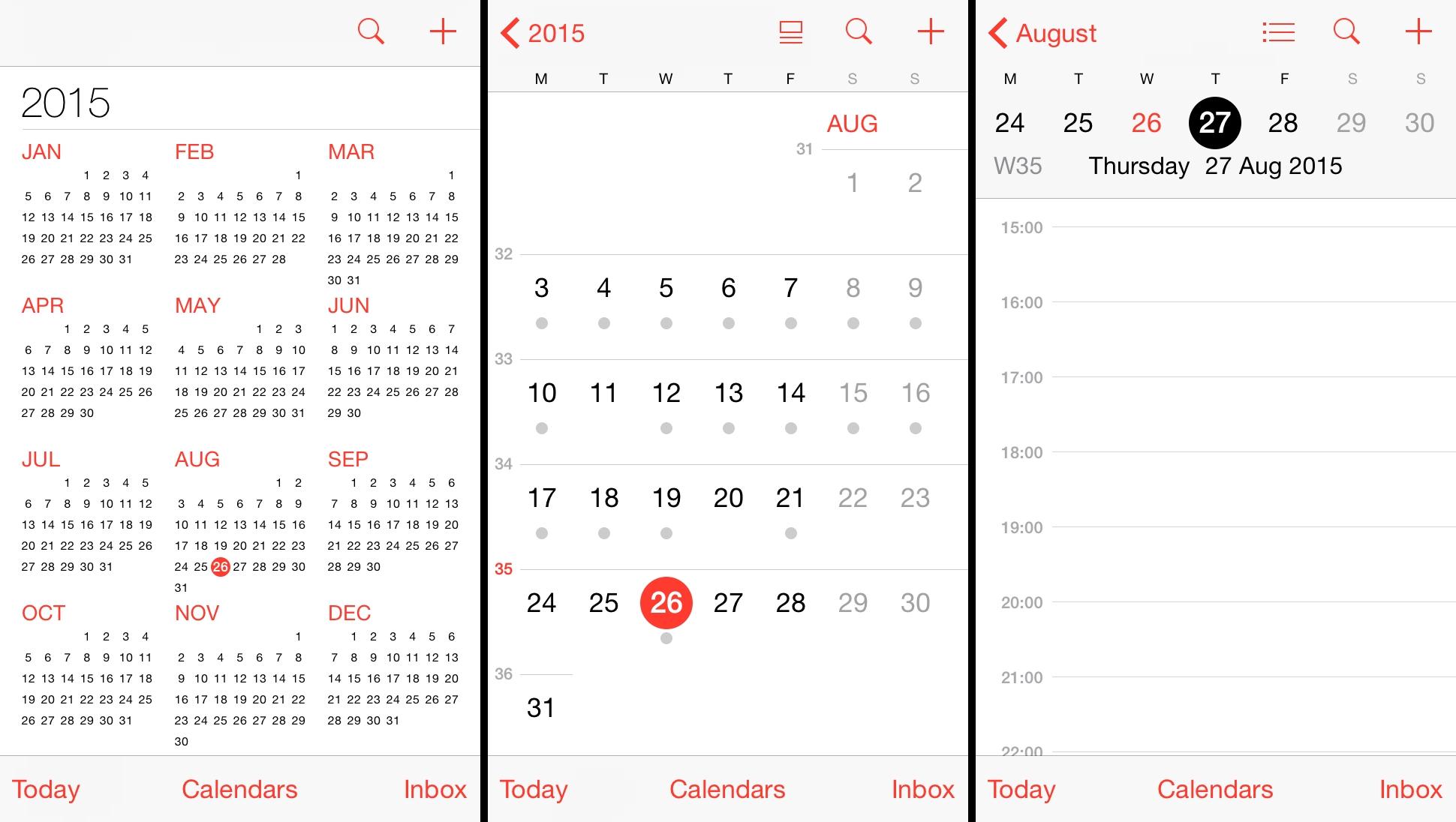 Dentrodabiblia: 6 Week Calendar