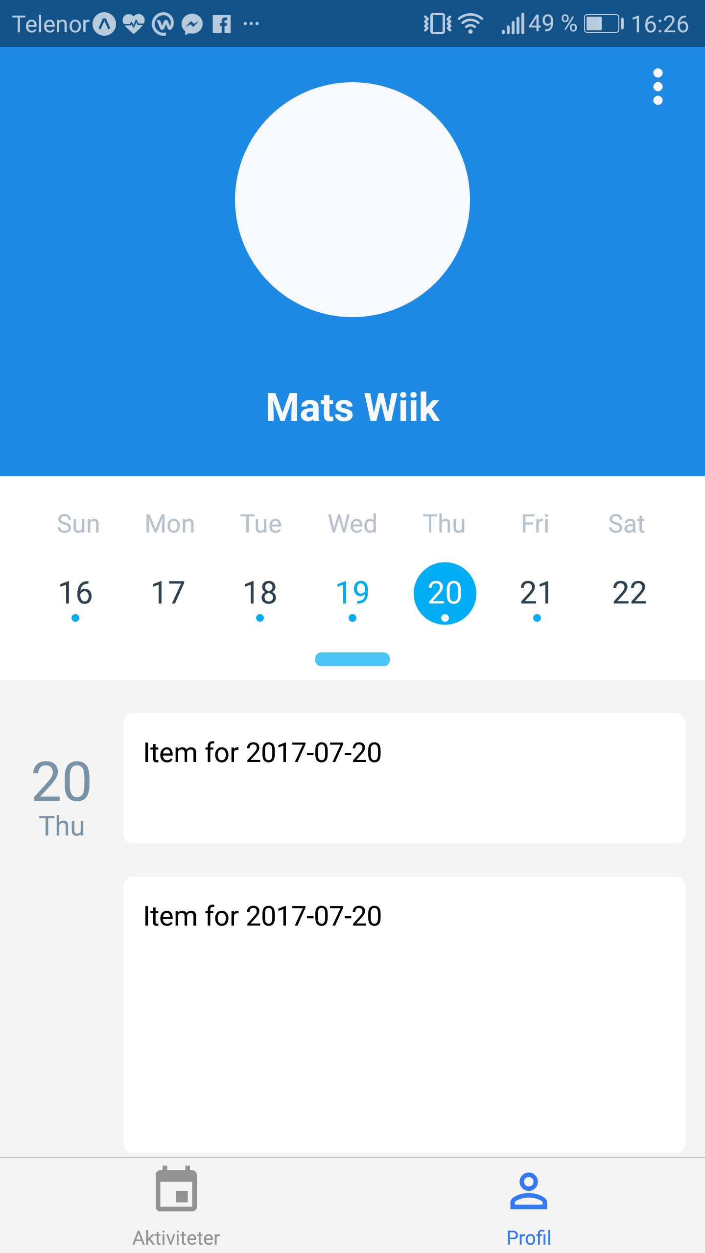 Different Calendar Sizes On Agenda · Issue #105 · Wix/react