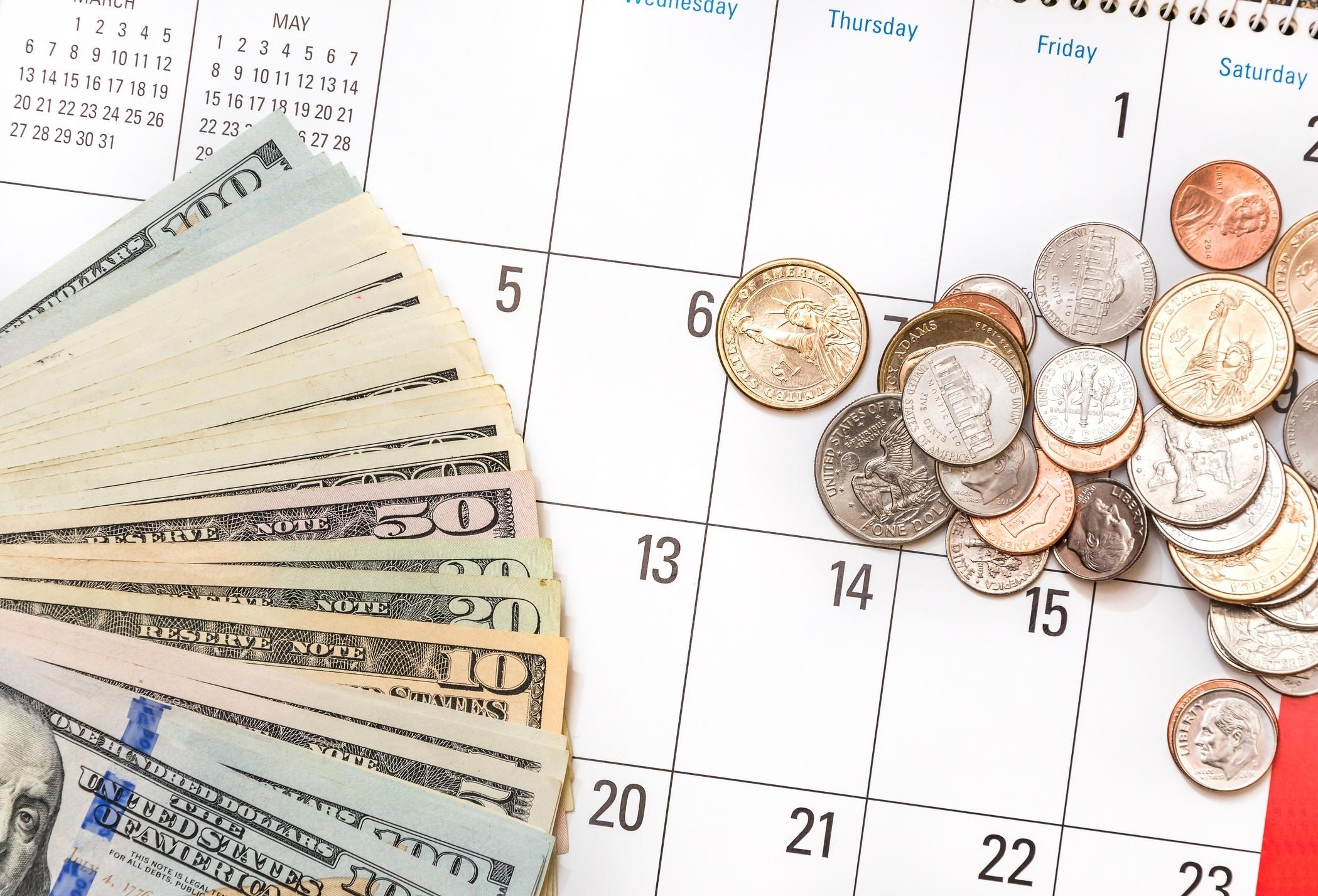 Discover Cash Back Calendar