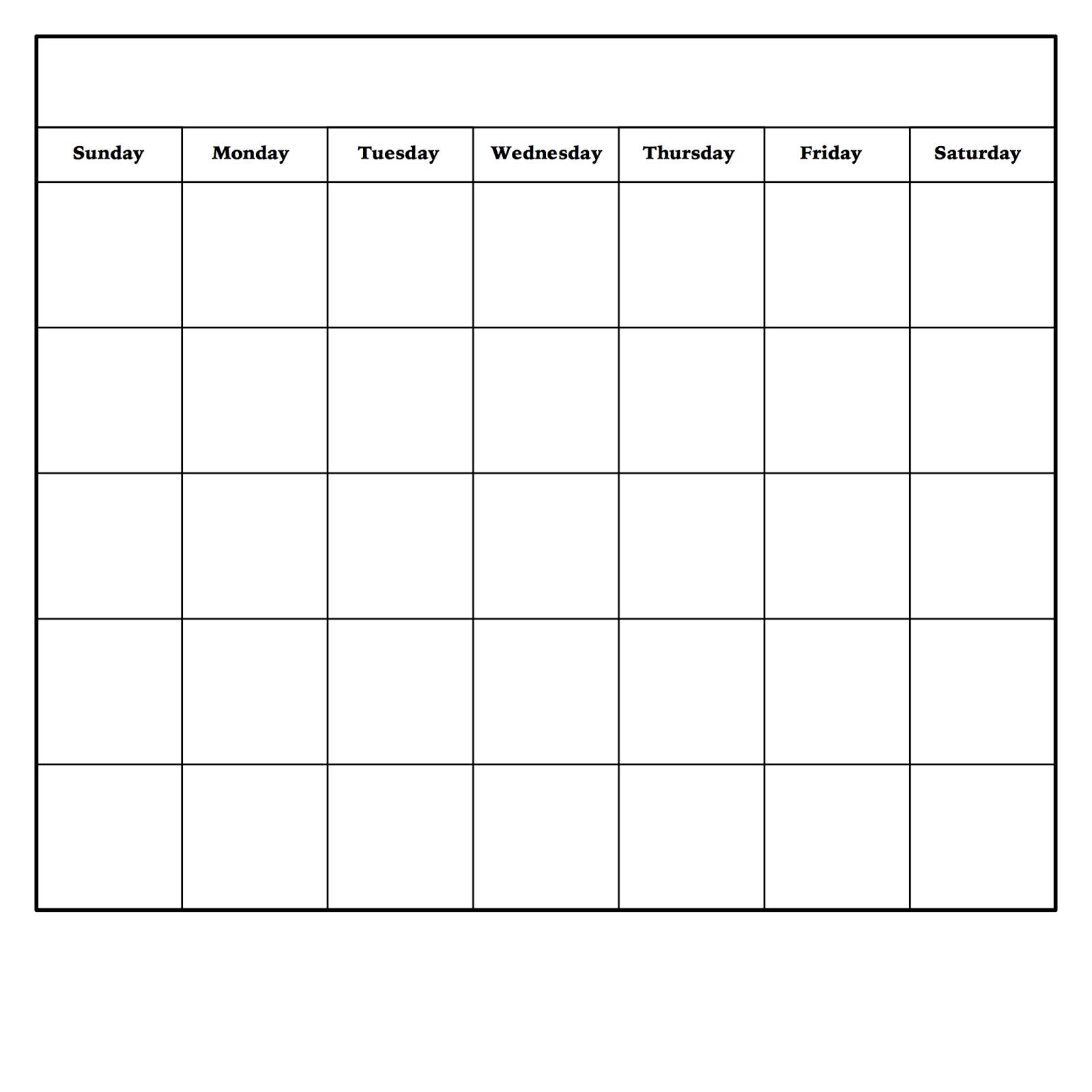 Diy Dry Erase Calendar | Monthly Calendar Template, Blank