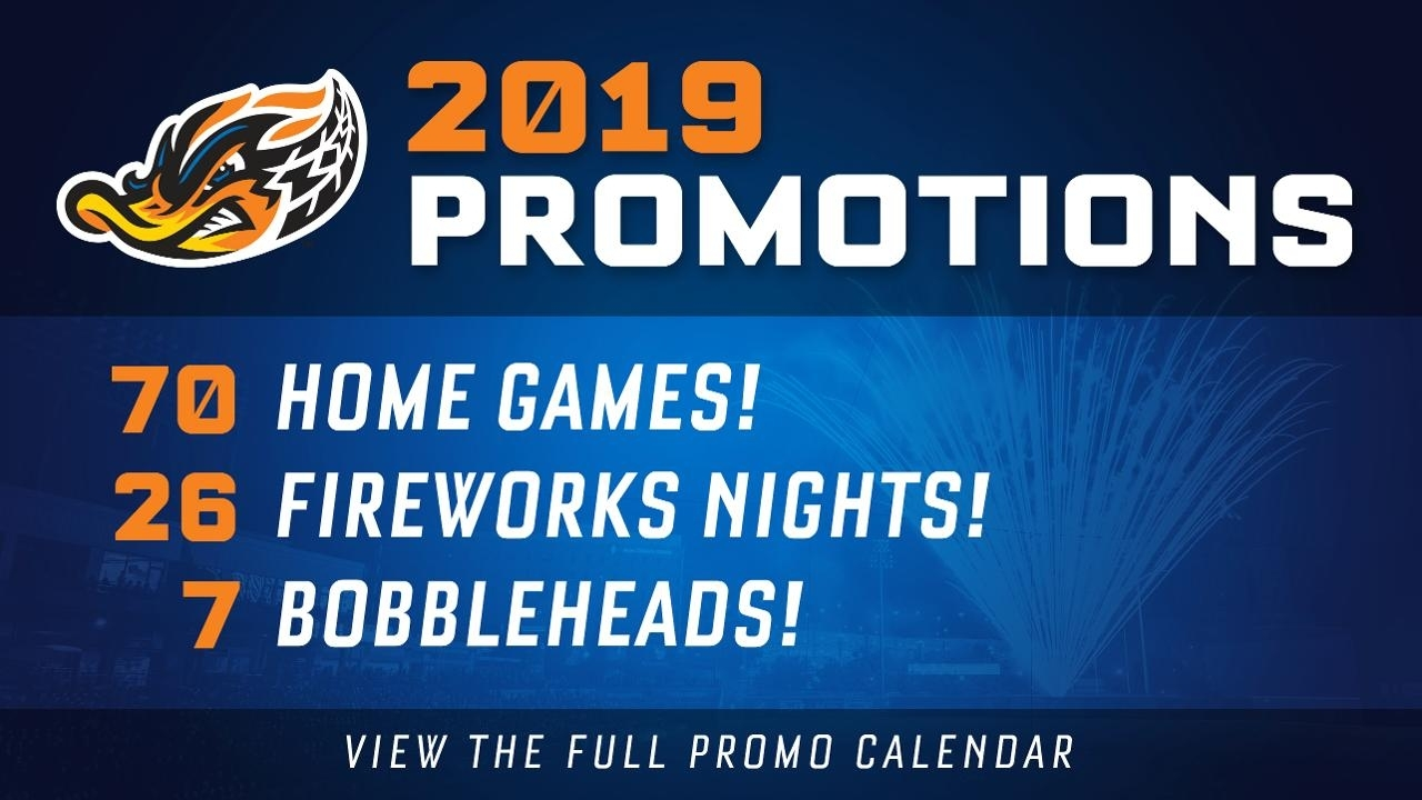 Ducks 2019 Promo Calendar Packed With 70 Games Of Affordable