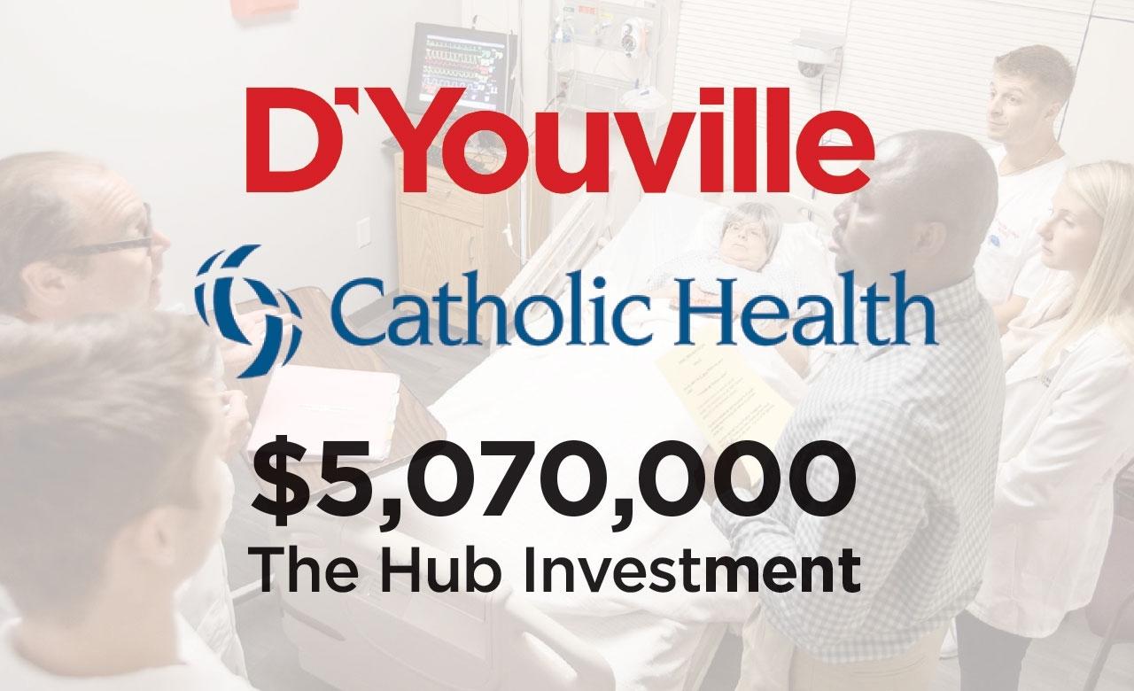 D'youville Health Professions Hub Aidedcatholic Health