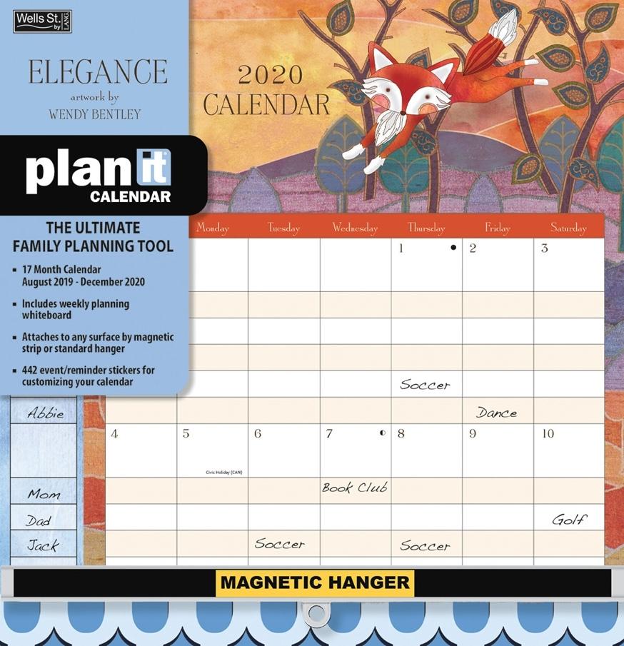 Elegance 2020 Plan-It Calendar