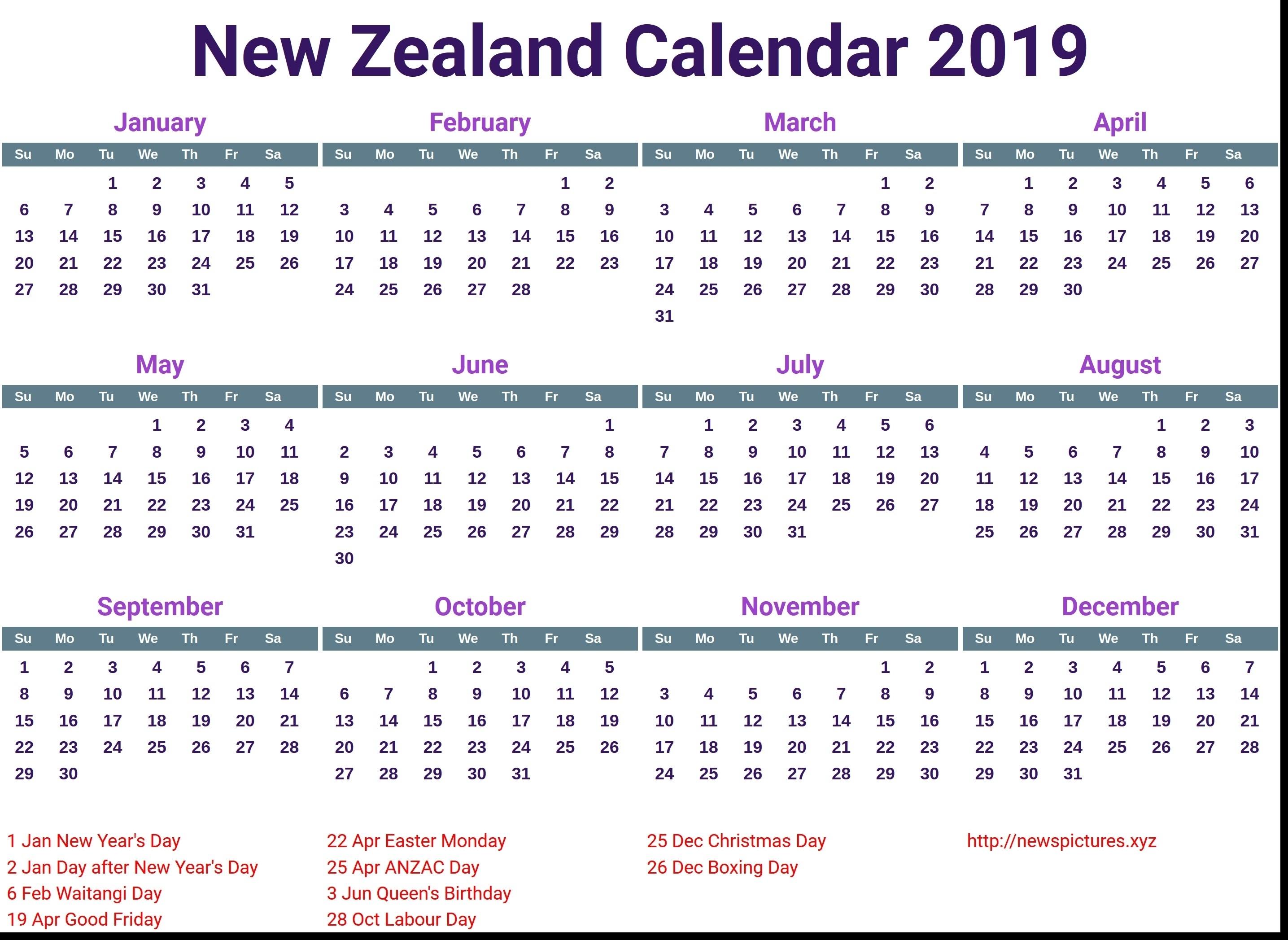 February 2020 Calendar Nz - Cerno.mioduchowski