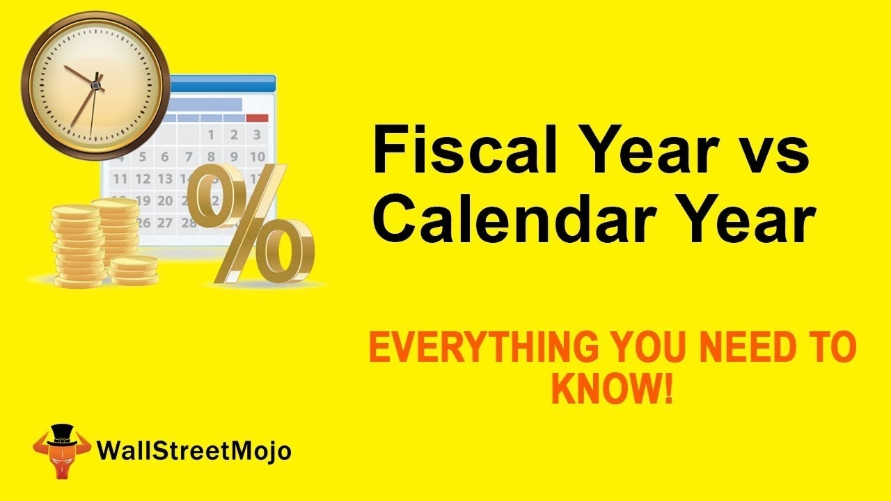 Fiscal Year Vs Calendar Year | Top Differences You Must Know!