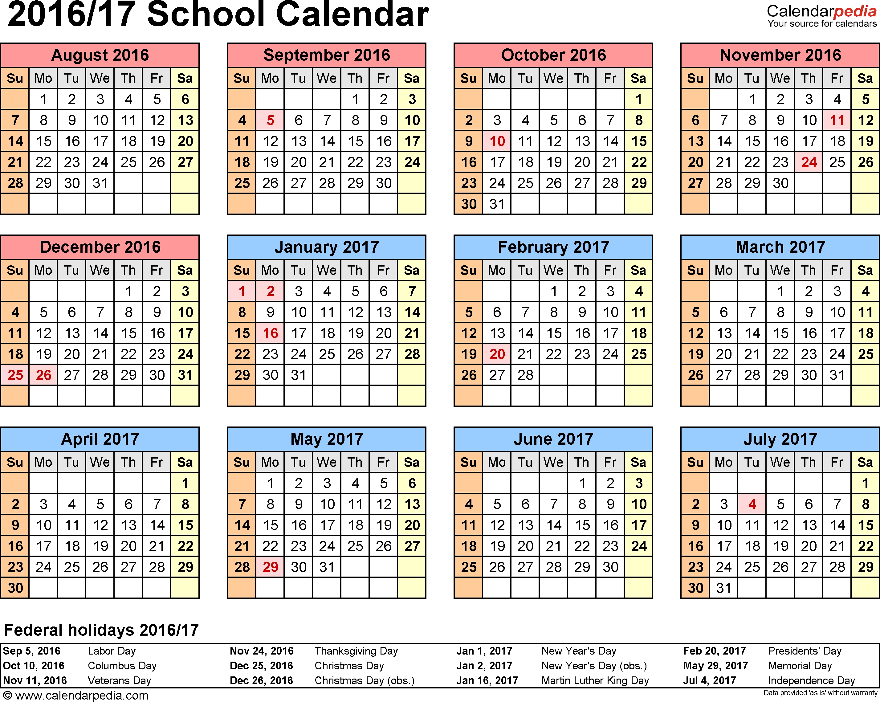 Free Calendar Template 2020 17 - Cerno.mioduchowski