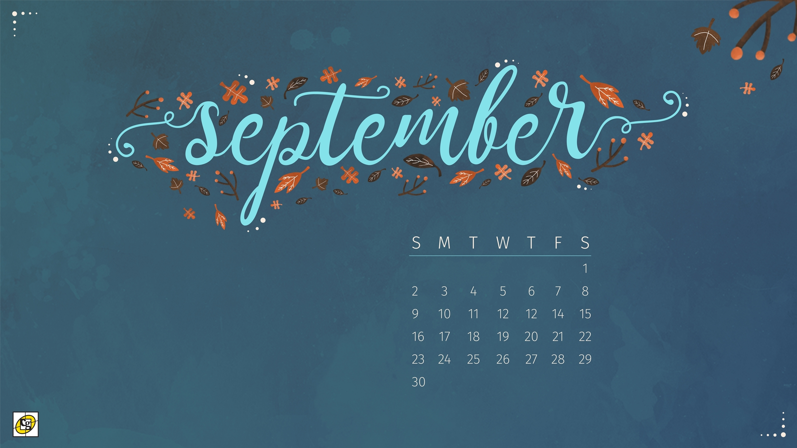 Free Download: September 2018 Desktop Calendar - Composure