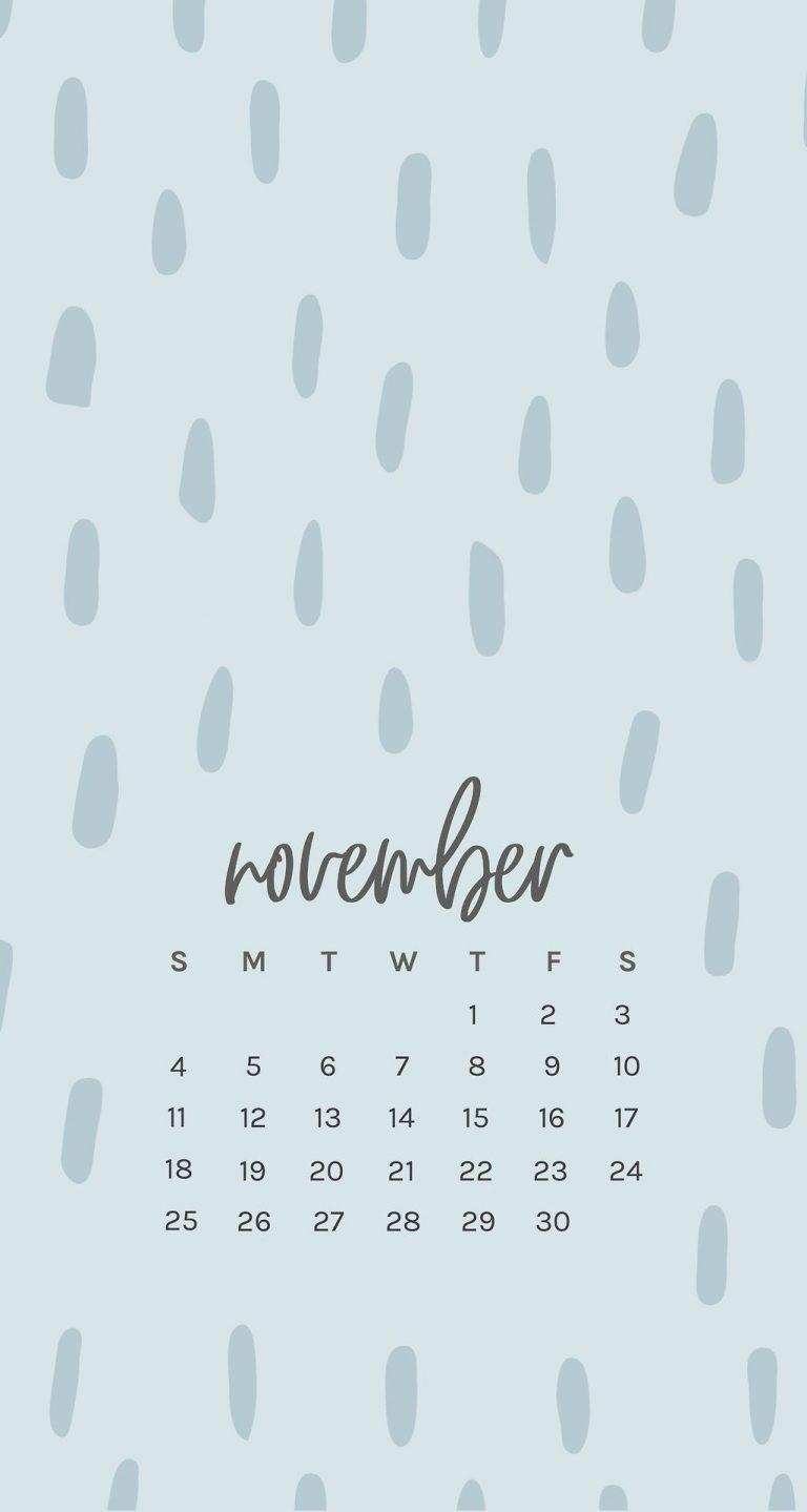 Free November 2018 Iphone Calendar Wallpapers | Trik