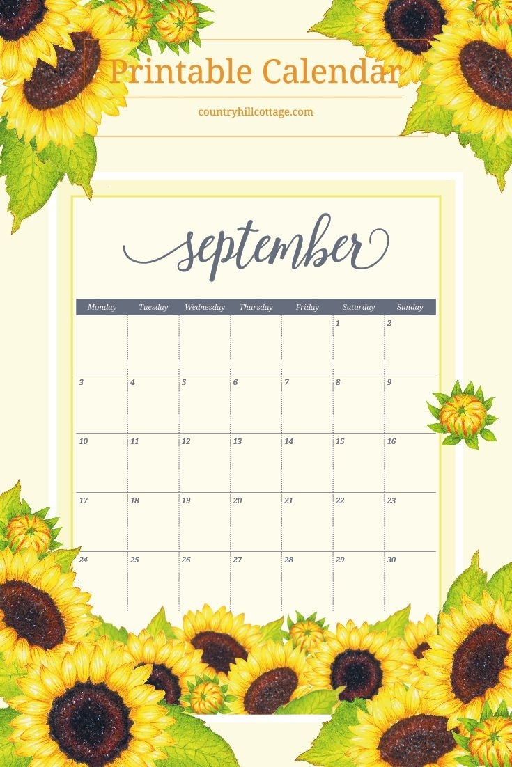 Free Printable Calendar 2018 | Free Printable Calendar, Free