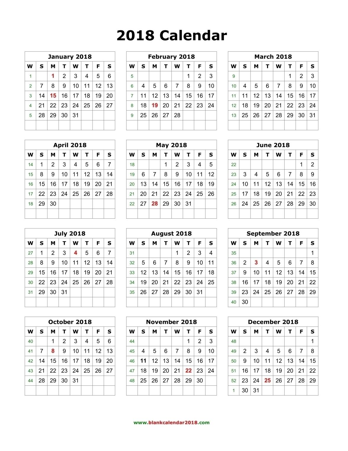 Free Printable Year Long Calendar | Template Calendar Printable