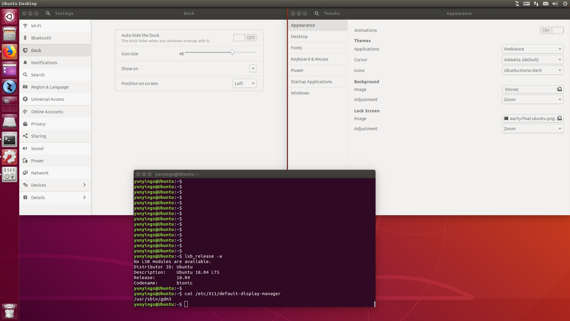 Gnome Shell - Time And Date Is Missing On Top Bar Of Ubuntu