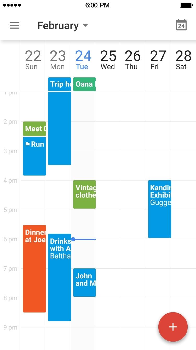 Google Calendar App Gets Today Widget - Iclarified