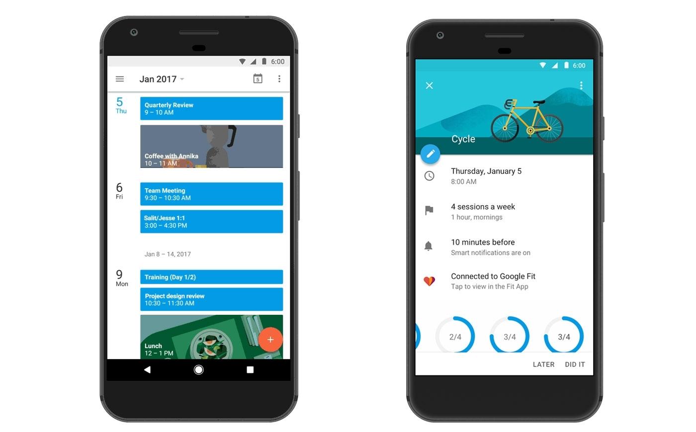 Google Calendar Helps With Fitness Goalslogging Workouts