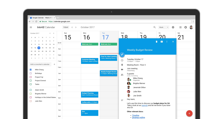 Google Calendar On The Web Gets A Fresh New Look | Techcrunch