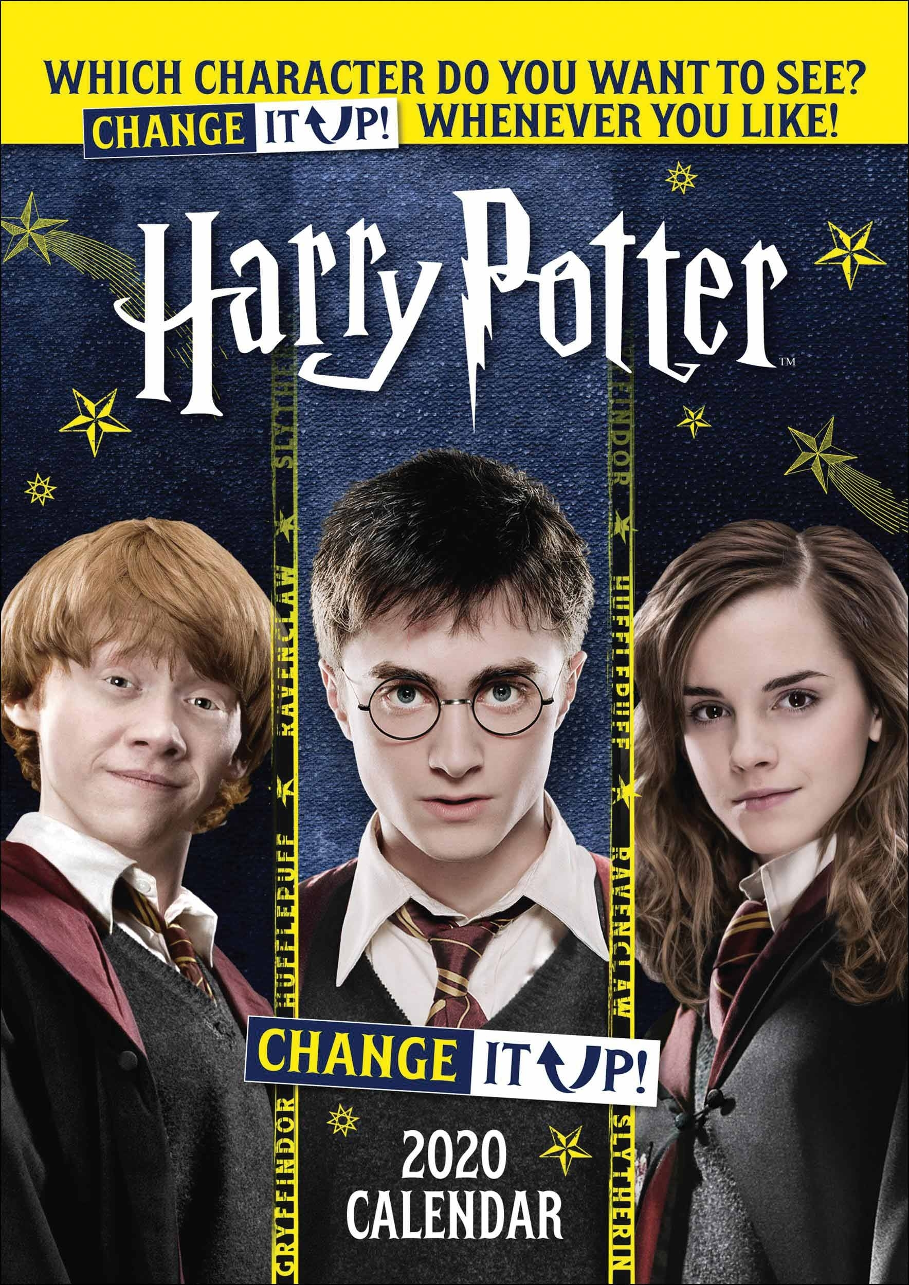 Harry Potter, Change It Up Official A3 Calendar 2020