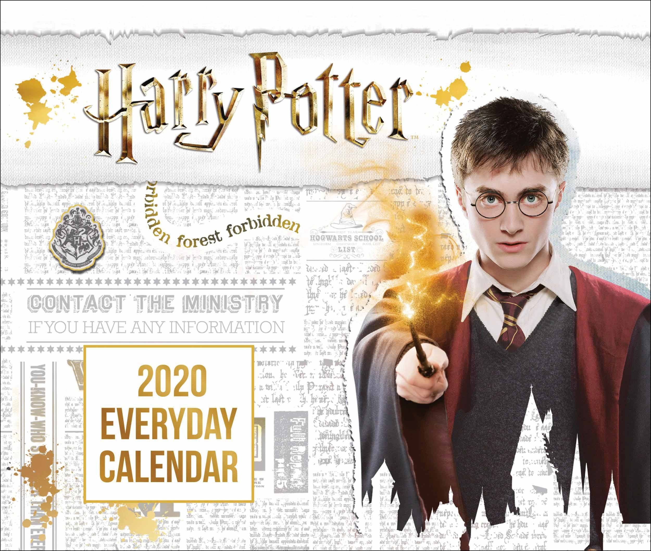 Harry Potter Official Desk Calendar 2020