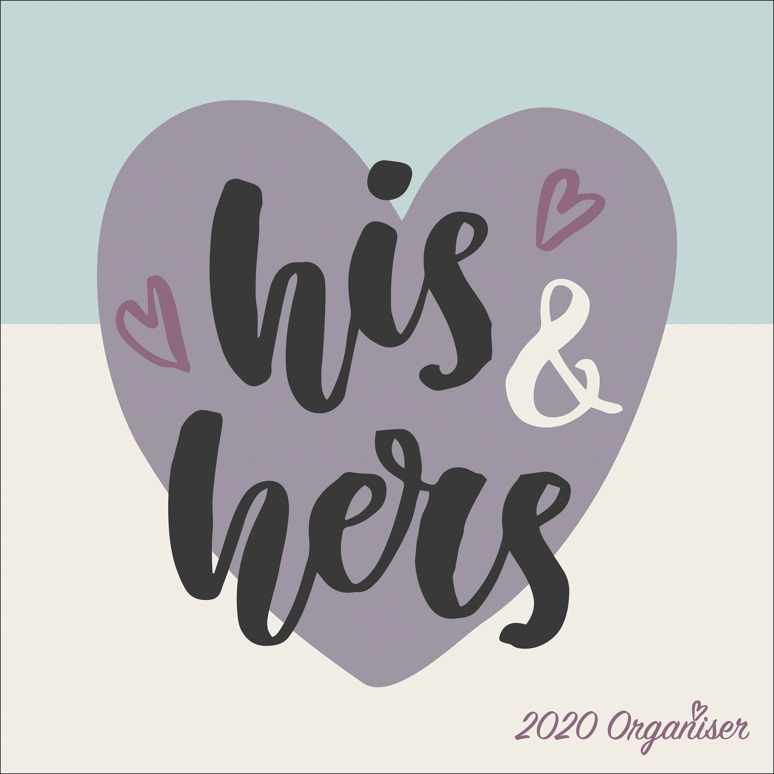 His & Hers Couples Planner 2020