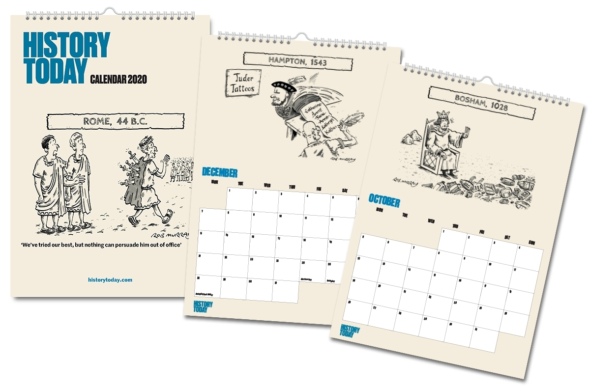 History Today 2020 Calendar   History Today